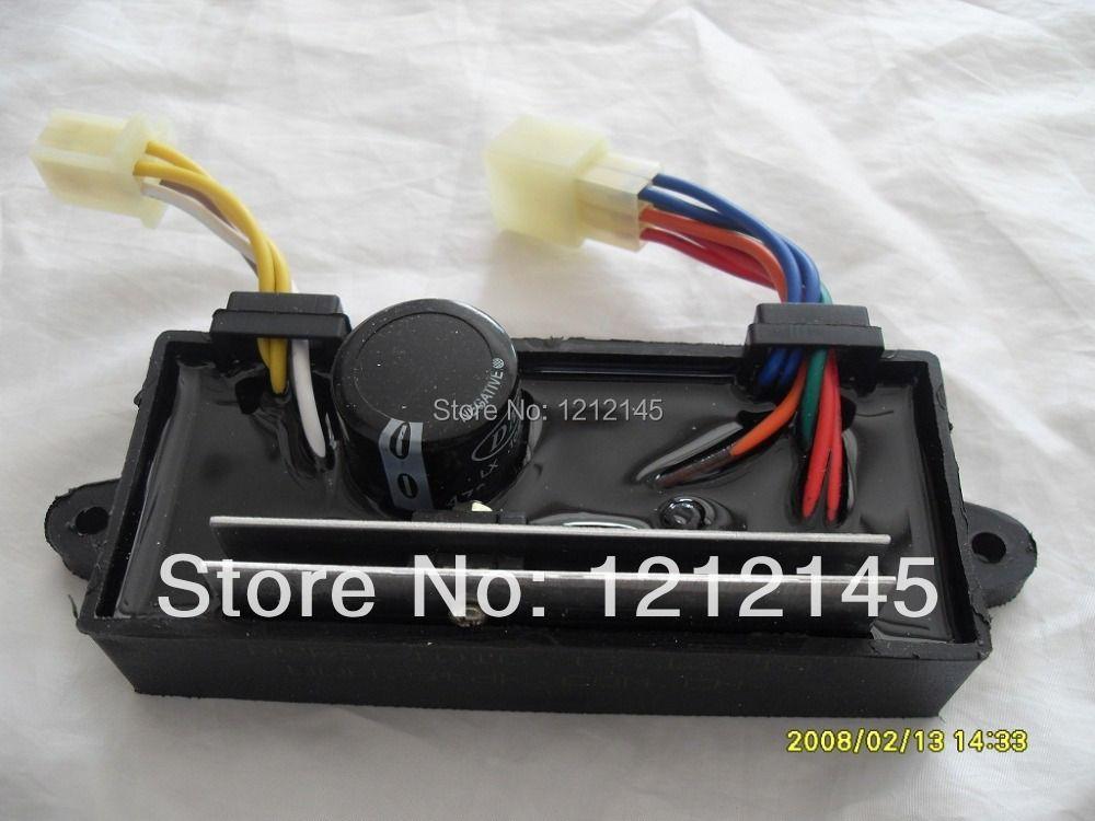 GTDK AVR5-1W1C monophasé Générateur et Soudeur à Double usage 5KW Générateur AVR, Diesel De Soudage Générateur AVR, Soudeur AVR