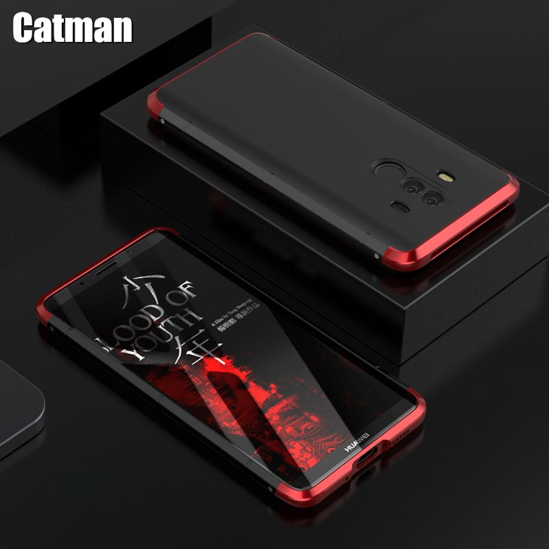 mate 10 pro case aviation aluminum bumper for huawei mate 10 luxury matte PC+metal frame shell for huawei mate 10 cover case