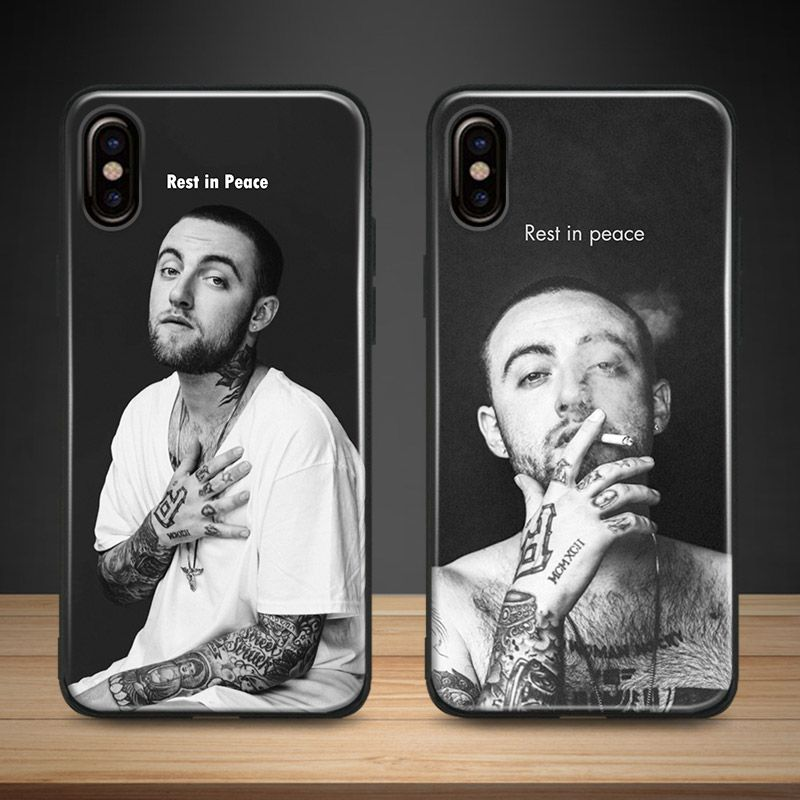 Mac Miller RIP rapper hiphop Coque TPU Soft Silicone Phone Case Cover Shell For Apple iPhone 5 5s Se 6 6s 7 8 Plus X XR XS MAX