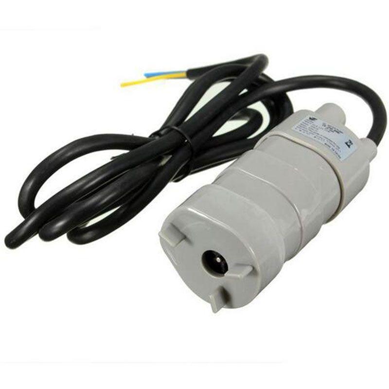 Haute qualité vendable à chaud 12 V DC 1.2A 5 M 600L/H 6-12 V pour Aquarium solaire trois fils Micro Submersible moteur pompe à eau