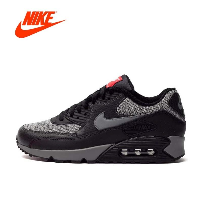 Original New Arrival Authentic NIKE Men's AIR MAX 90 ESSENTIAL Running Shoes Sport Outdoor Sneakers Good Quality 537384-065