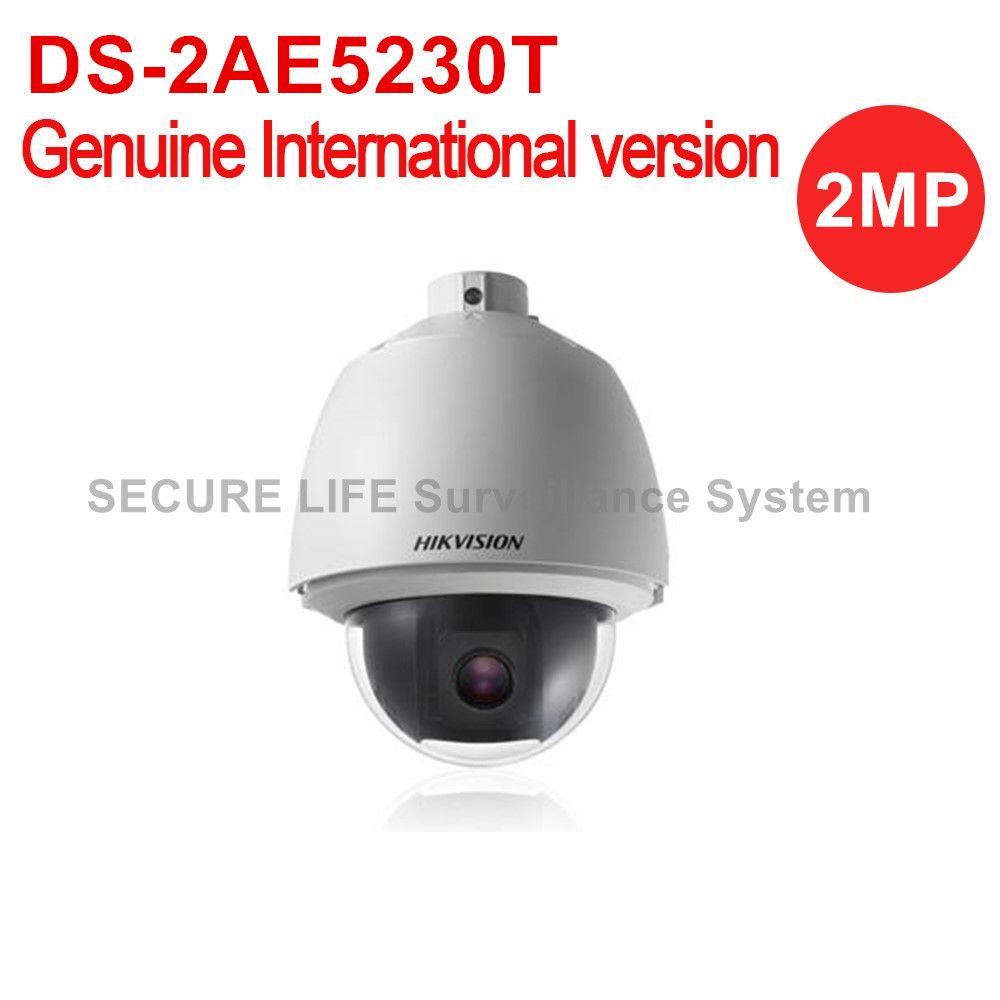 Бесплатная доставка ds-2ae5230t 2mp английская версия HD1080P Turbo купольная Камера 30X оптический зум