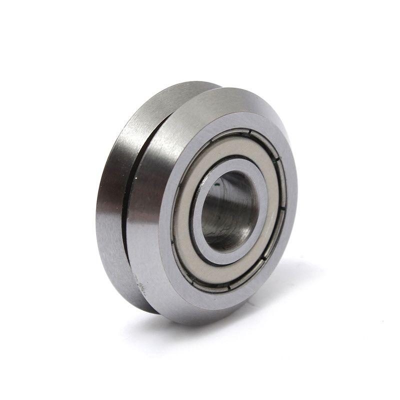 1 stücke W2 9,525mm x 30,73mm x 11,1mm V rad W groove versiegelte kugellager linearführung rollenlager Stahl