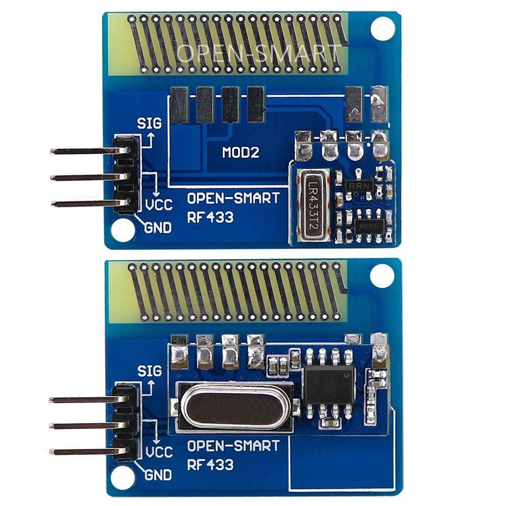 Longue Portée 433 MHz RF Sans Fil Émetteur-Récepteur Kit avec Antenne Grande Puissance 433 MHz Émetteur Récepteur Module LORA Kit pour Arduino
