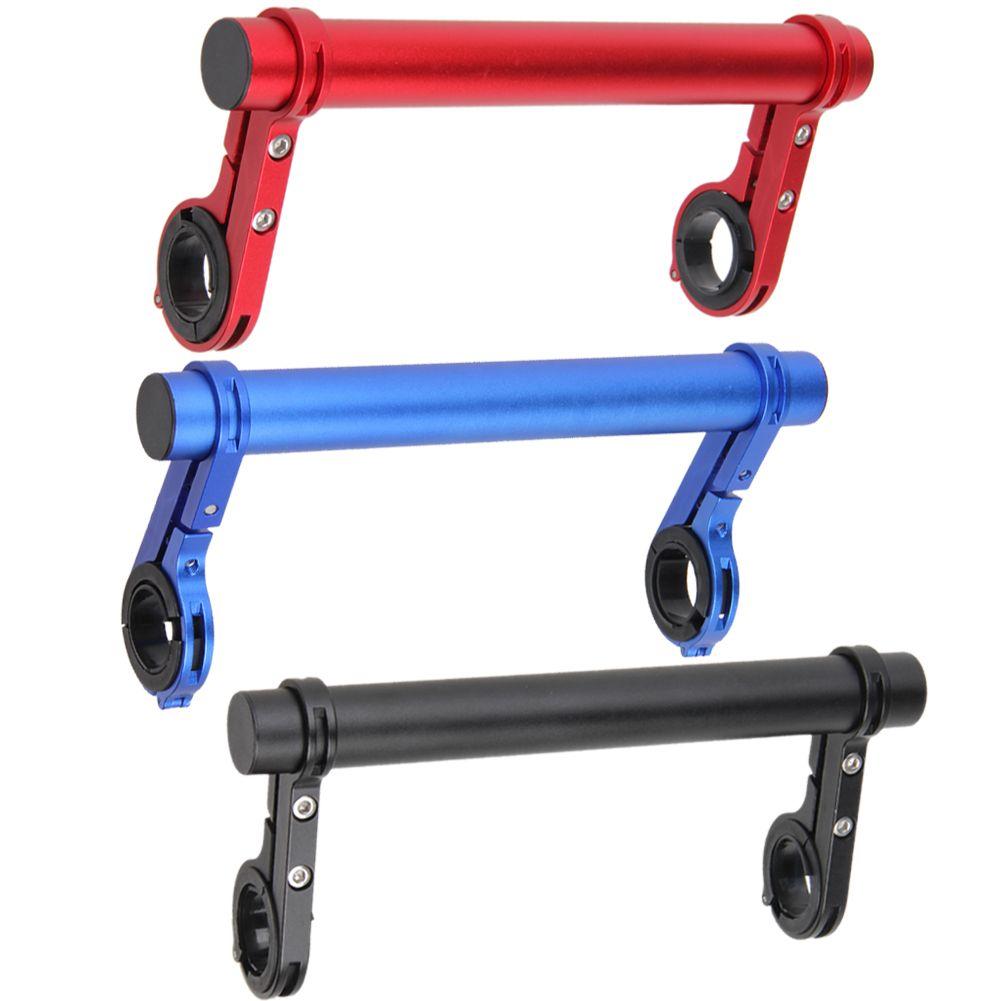 20 cm Doppel Lenker Mtb MTB Lenker Extender Expander Fahrradtacho Montieren Scheinwerfer Taschenlampe Lampe Halter