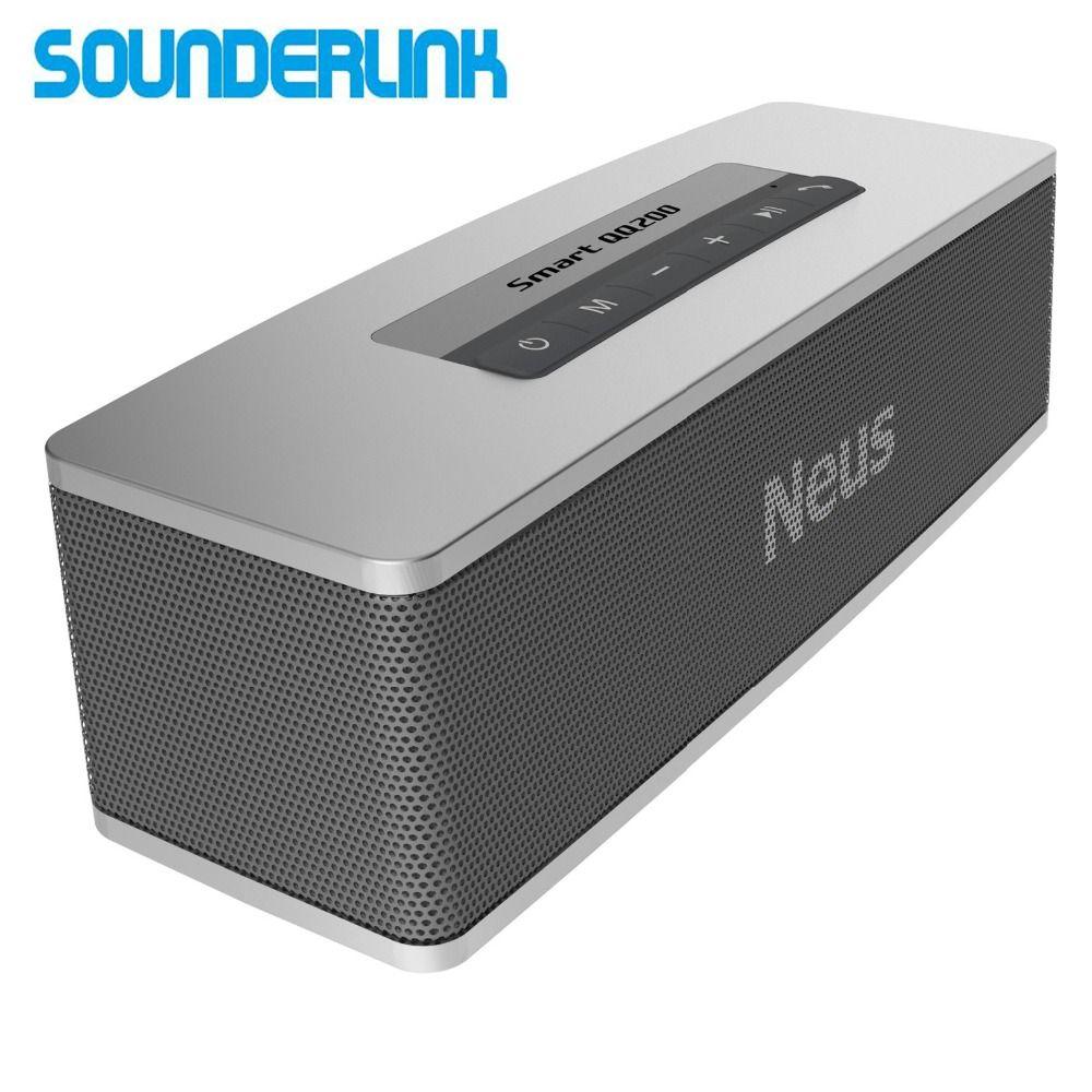 Sounderlink Neusound Neus Smart QQ200 20W HiFi High power mini portable outdoor wireless deep bass Bluetooth speaker TWS