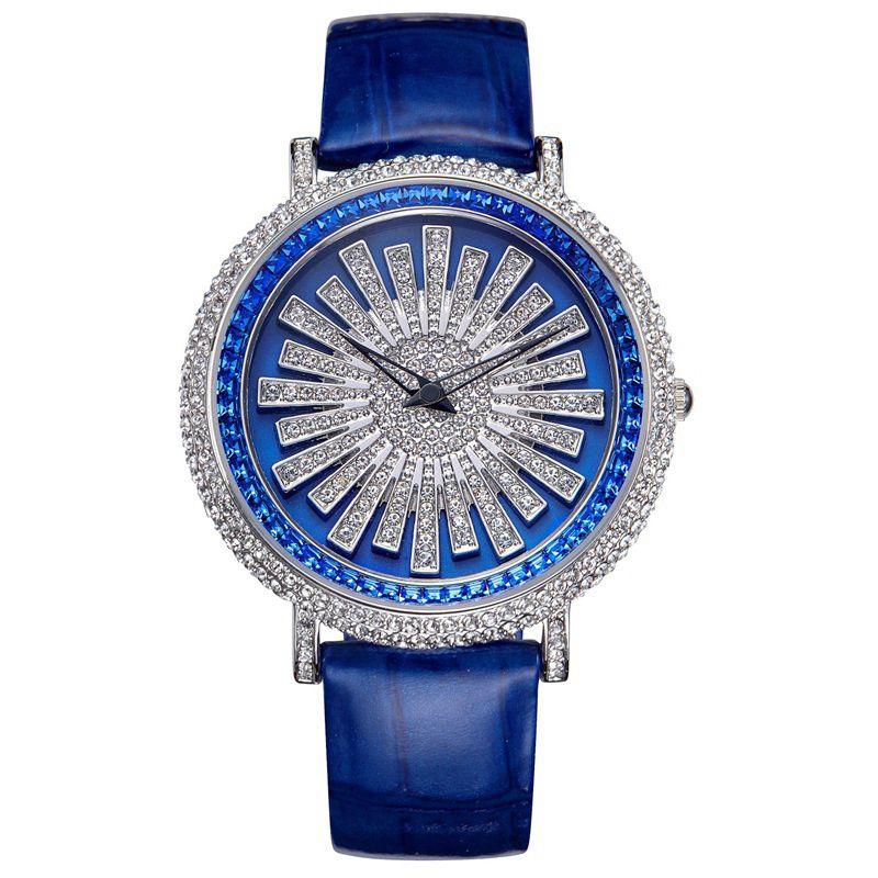 New ladies watch women dress Quartz watches brand belt student bracelet watch waterproof rose gold diamond lady table female