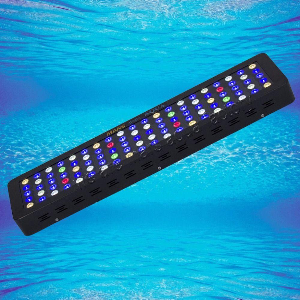 MarsAqua Dimmbare 300 Watt FÜHRTE Aquariumlicht Gesamte Spektrum Riffkoralle Meeres