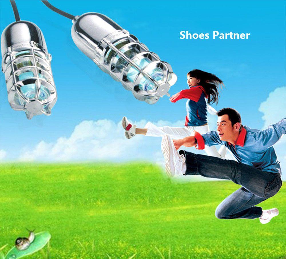 Original Shoes UV Lamp Ultraviolet Ozone Shoe Sterilizer Dryer Warmer Deodorizer Dehumidify Sanitizer With Reset Switch US / EU