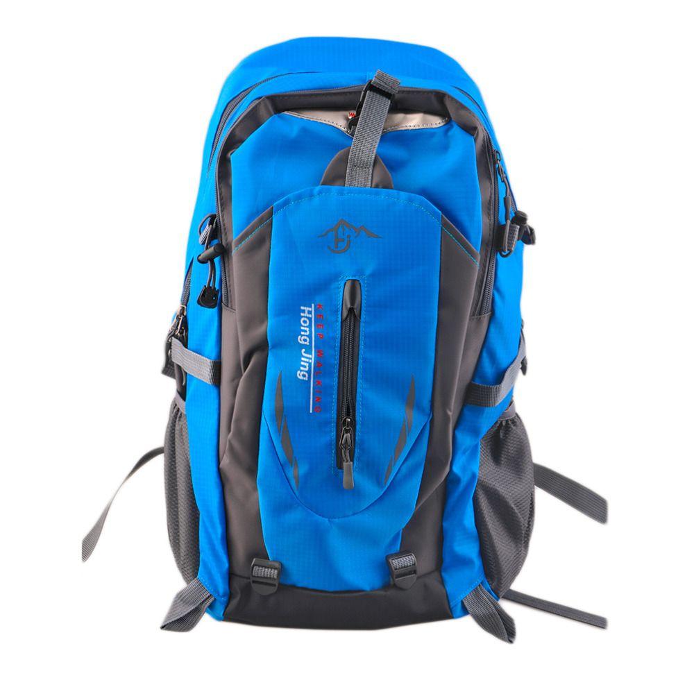 Лидер продаж 40l открытый альпинизм Сумки водоотталкивающий нейлон сумка Для мужчин и Для женщин Путешествия Пеший Туризм Рюкзак