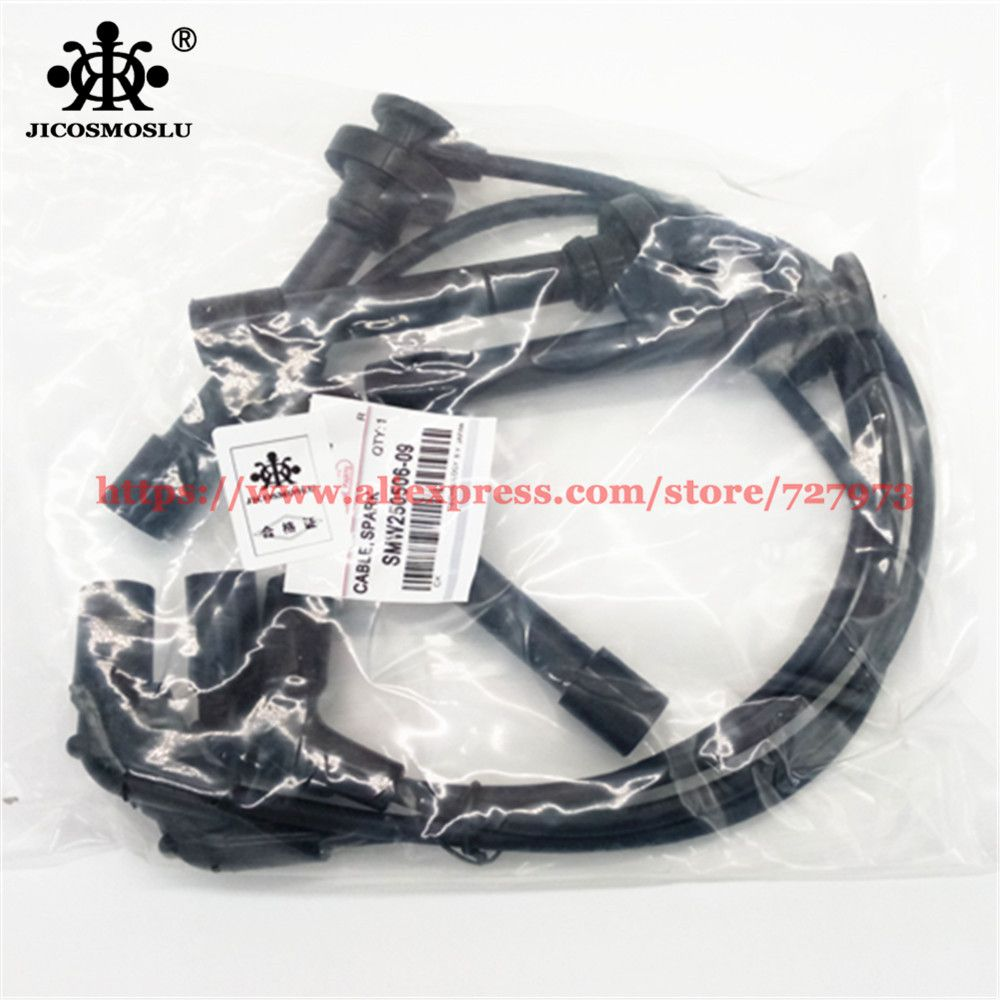 Spark Plug Cable,Ignition Lines,Sub Cylinder Wires Great Wall Hover Cuv Haval H3,H5,Euro Steed 5,Wingel 5,Peri,Engine 4G63/64/69