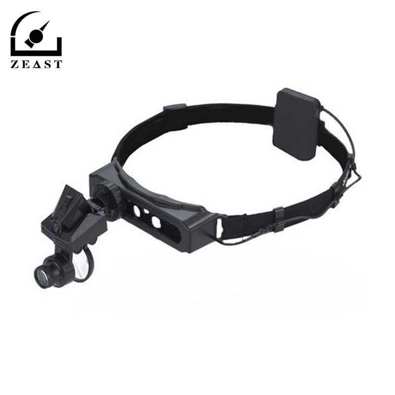9892D 5X 10X 15X 20X LED Adjust Lens Loupe Head Magnifying Glass Illuminated Headset Watch Repair Magnifier