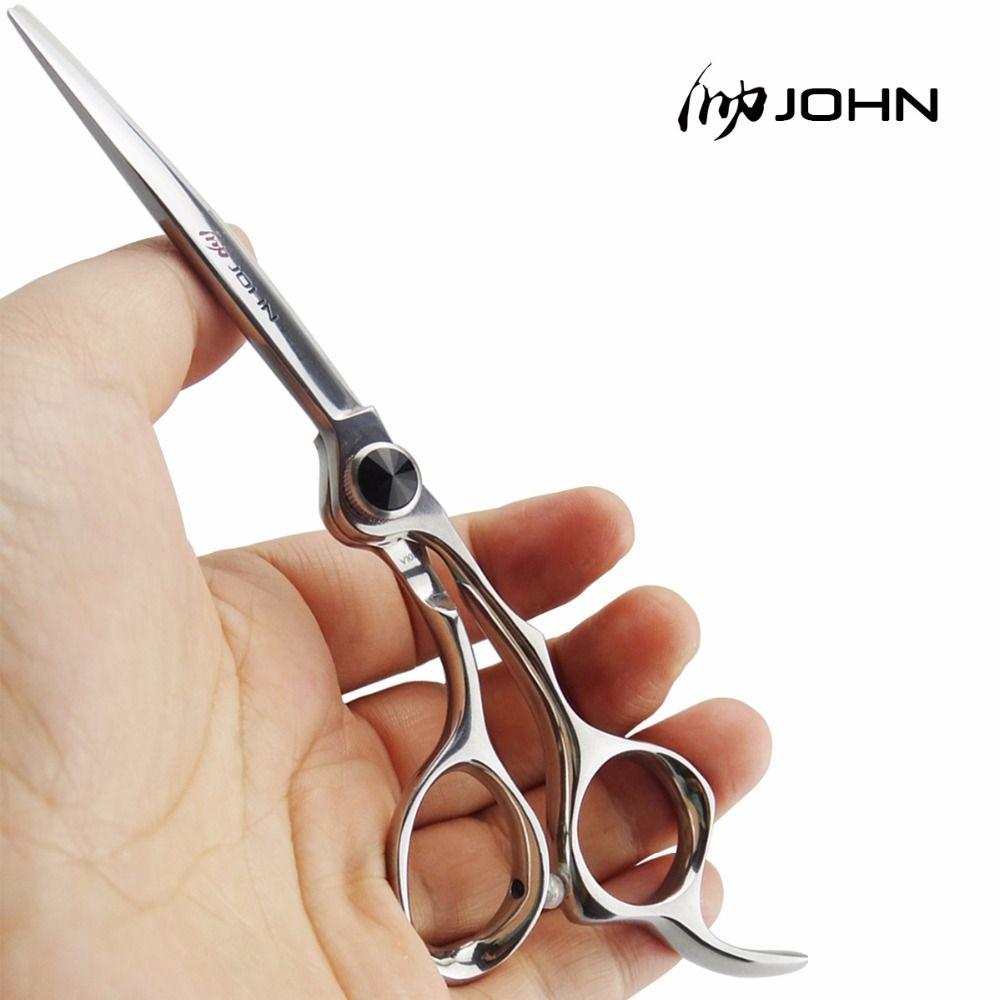 Ciseaux John japonais en alliage de Cobalt VG10 pour couper les cheveux ciseaux de coiffure professionnels pour les fournitures de salon de coiffure