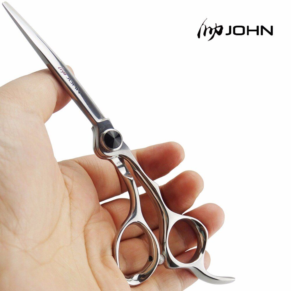 John Shears Japanese VG10 Cobalt Alloy Scissors for Cutting Hair Professional Hairdressing Scissors for Barber Shop Supplies