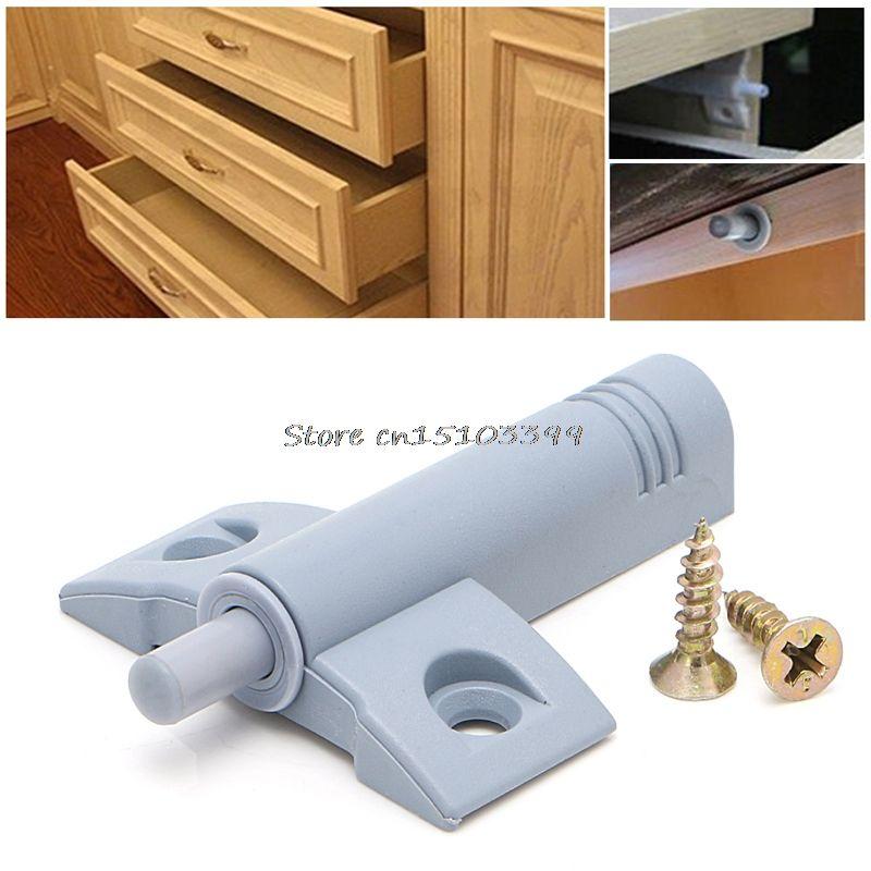 10 x Küchenschranktür Schublade Weiche Quiet Schließen Closer Dämpfer Puffer + Schrauben Türstopper Hardware G08 Drop ship