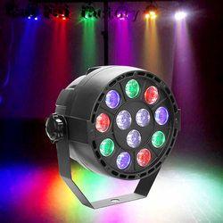 Alta qualidade 12 led par luz do estágio LEVOU RGBW DMX 8 Sonho cor Ampla utilização para o Clube Dj mostrar partido Home Salão Bandas NOVO