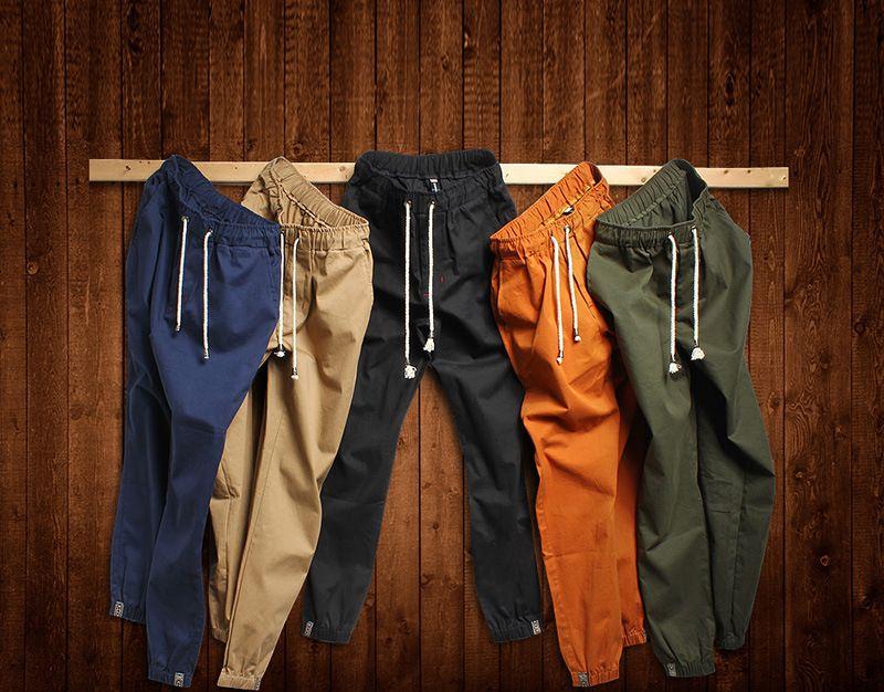 2017 de otoño de Los Hombres Pantalones Harem Personalidad Ocasional de Moda Hip Hop Danza Pantalones Masculinos joggers tamaño grande 5XL