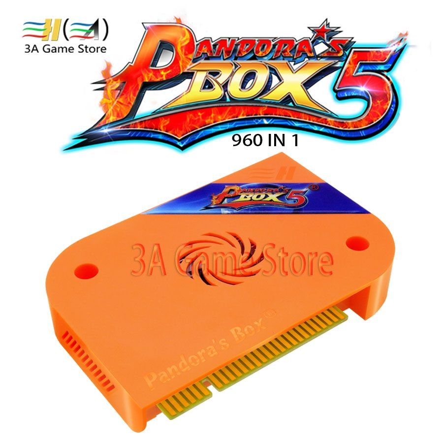 Pandora Box 5 960 in 1 HD 720 P Jamma Mutli Spiel bord Version der Pandora Box 5 Jamma Bord Taste anpassung Eigenschaften