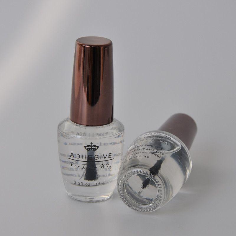 0.5FL. Oz (15 ml) profesión súper peluca Adhesivos para Encaje peluca alta calidad salón de belleza del pelo accesorio peluca pegamento