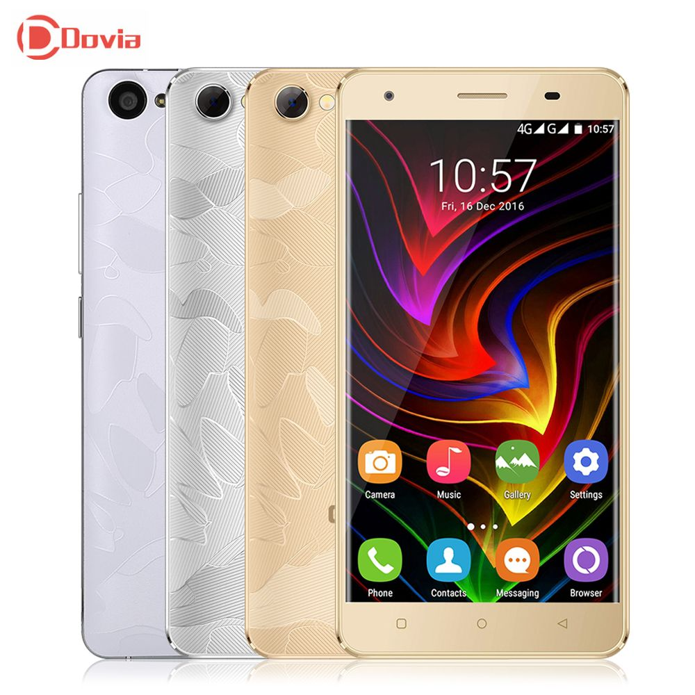 4G Smartphone OUKITEL C5 Pro 5.0 pouce Android 6.0 Téléphone MTK6737 Quad Core 2 GB RAM 16 GB ROM Double Caméras 2000 mAh Mobile Téléphone