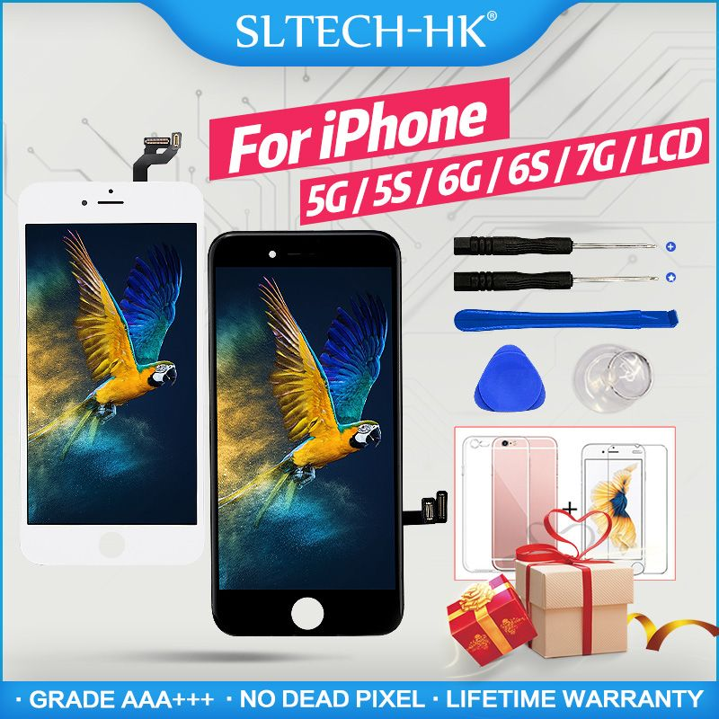 100% Good Working LCD For iPhone 4 5 5S 6 7 3D Touch Screen Digitizer Assembly For iPhone 6 S Plus Display Replacement Pantalla
