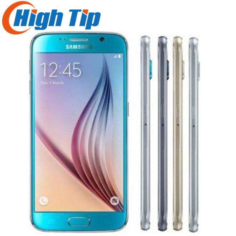 Samsung Galaxy S6 G920F S6 Bord G925F G925P Original Débloqué Mobile Téléphone Octa Core 32 gb ROM 16MP 5.1