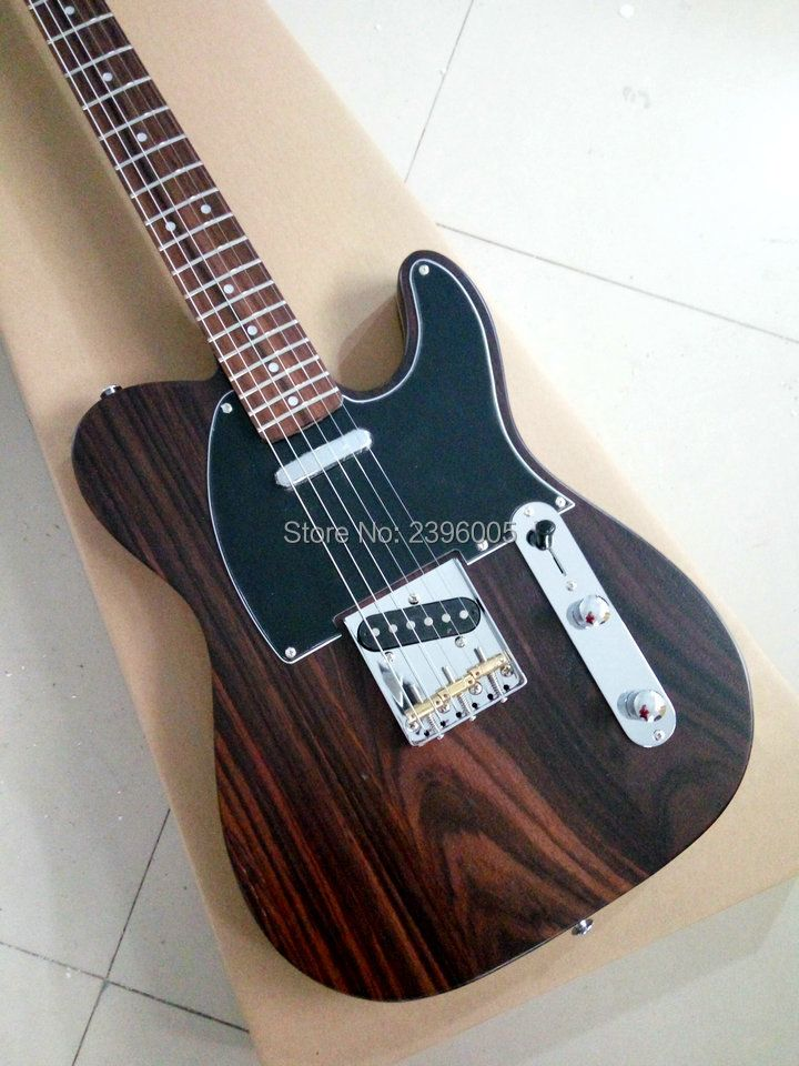 Custom Exclusive Telecast rosewood guitar George Harrison 001 Master built by Paul Waller,rosewood body,neck and fingerboard