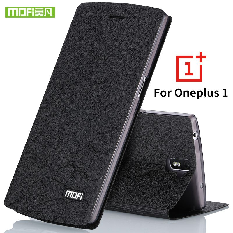 Oneplus one case a0001 silicone cover hard flip leather slim armor TPU original Mofi One plus one case oneplus 1 coque fundas