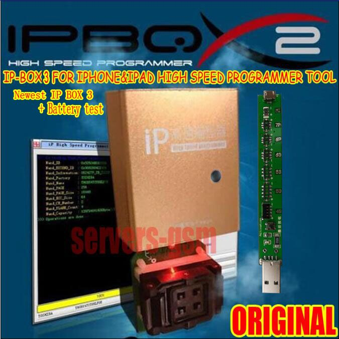 Original Newest hot Ip high speed programmer box IP box 3 for for Iphone &Ipad