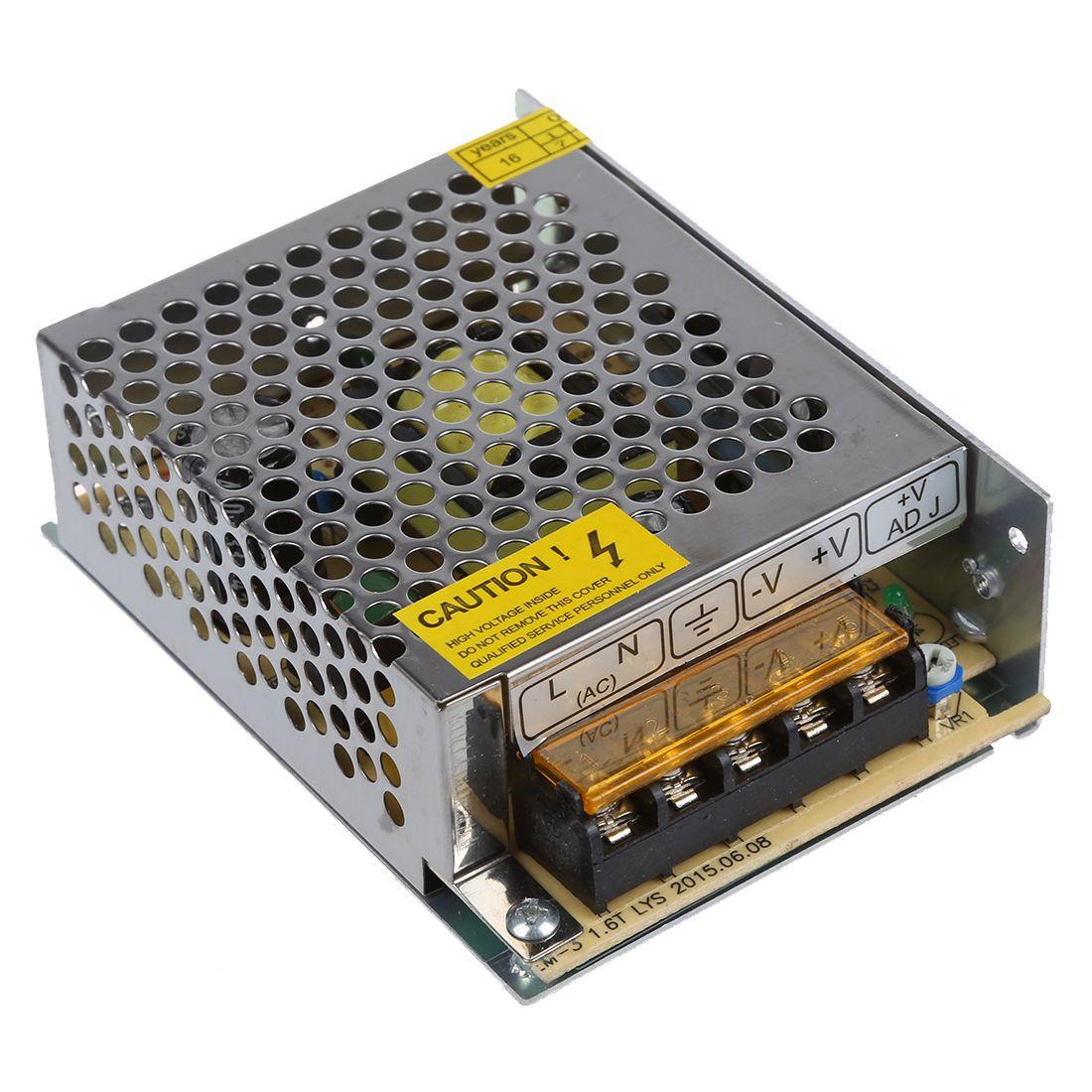 DSHA Neue Heiße 60 Watt Schalt Schalter-spg.versorgungsteil-fahrer für Led-streifen Licht DC 12 V 5A