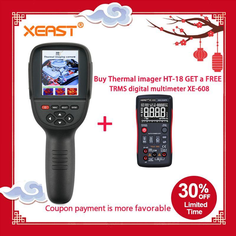 KAUFEN ONE GET ONE von Moskau Lager HT-18 Thermische Imager HT18 Infrarot Temperatur Wärme Thermische Imaging Kamera