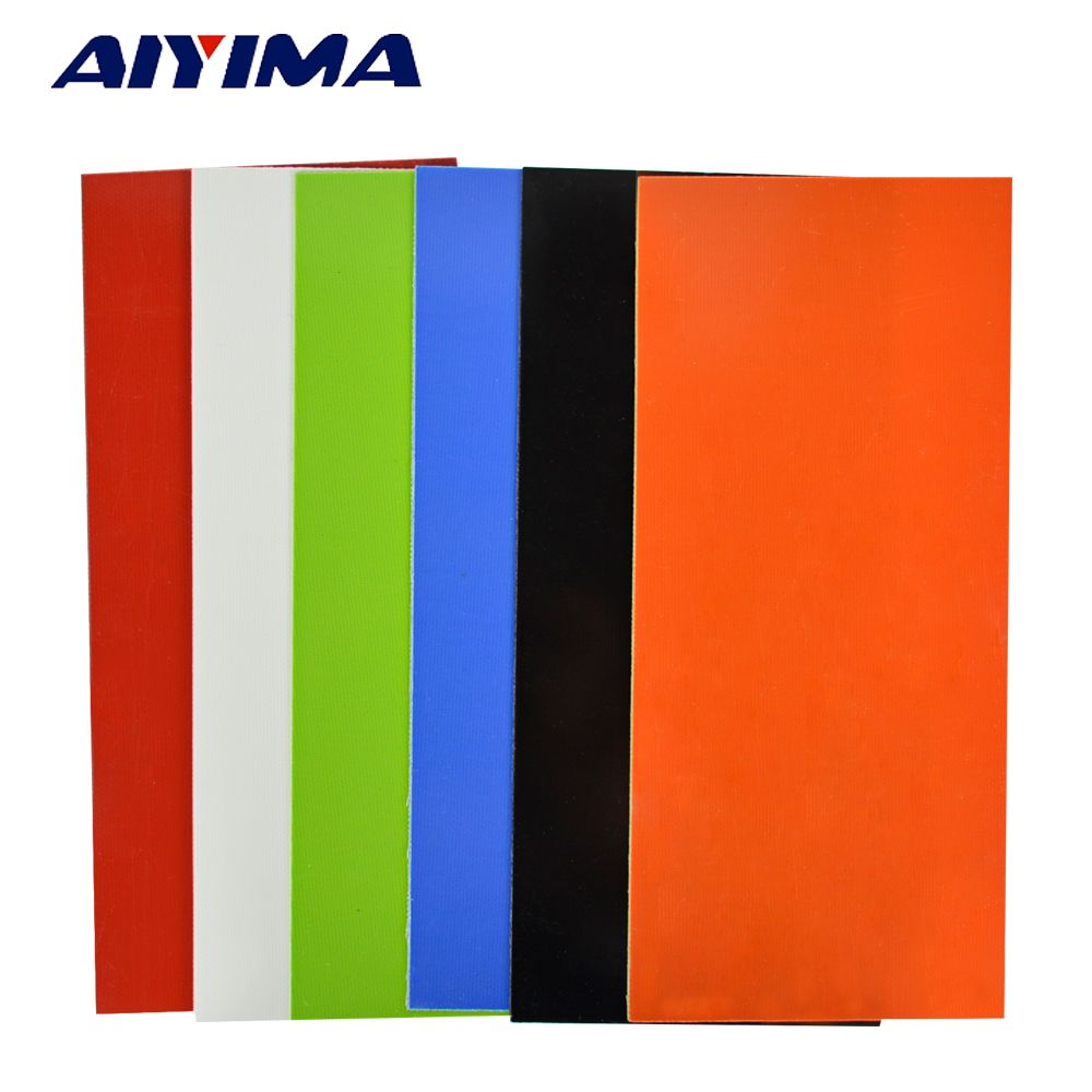 1pc Vulcanized fibe paper Making Knife G10 material handleDIY accessories 180*80*1mm Gasket Insulating papers