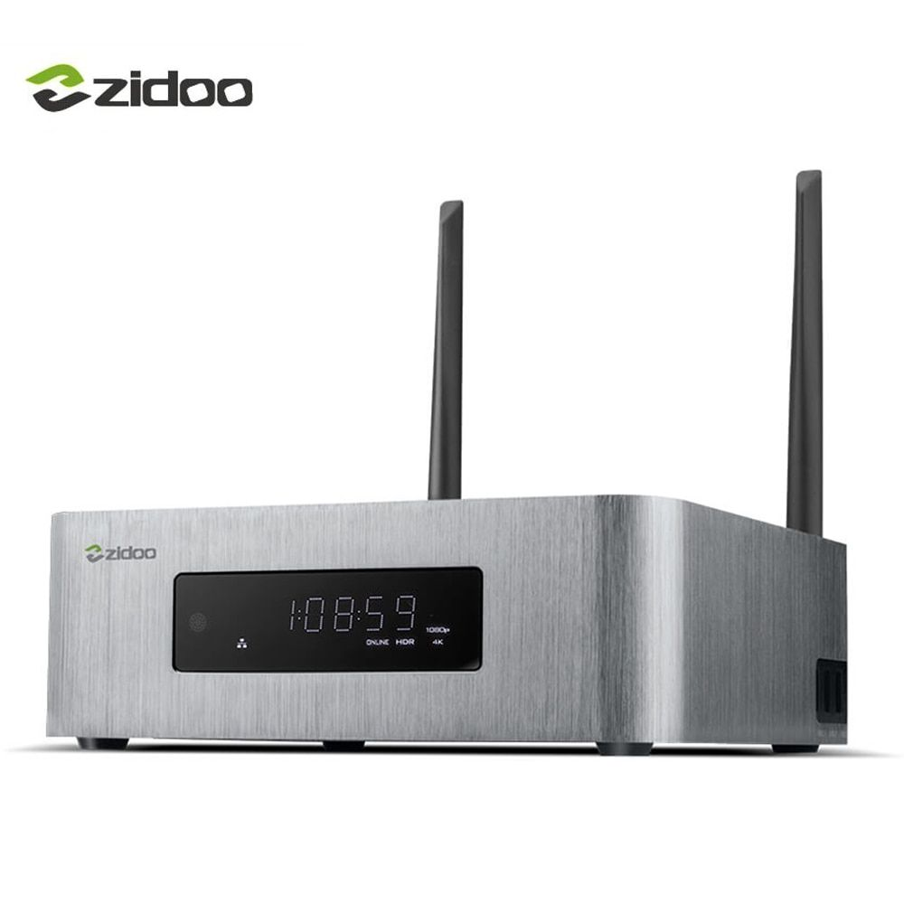 ZIDOO X10 Smart TV Box Quad Core Android 6.0 4K TV Box 2G/16G Dual Band WIFI HDMI 2.0 HDR Media Player 1000M LAN Set top Box