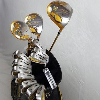 Golf Clubs Complete Set Honma Bere S-05 4 star golf club sets Driver+Fairway+Golf iron+putter (14piece) NO Golf bag