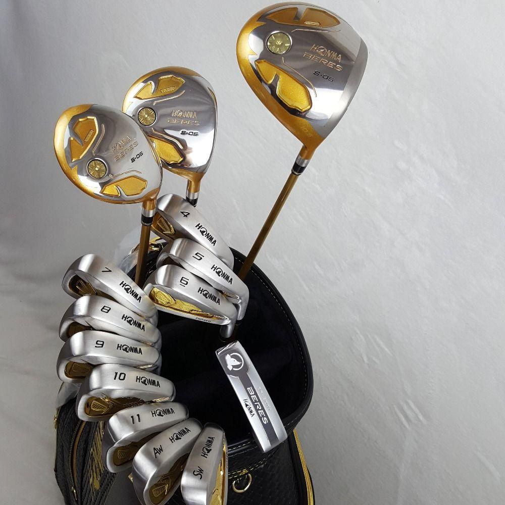 Golf Clubs Komplette Set Honma Bere S-05 4 sterne golfschläger-sets Fahrer + Fairway + Golf eisen + putter (14 stück) KEIN Golf tasche