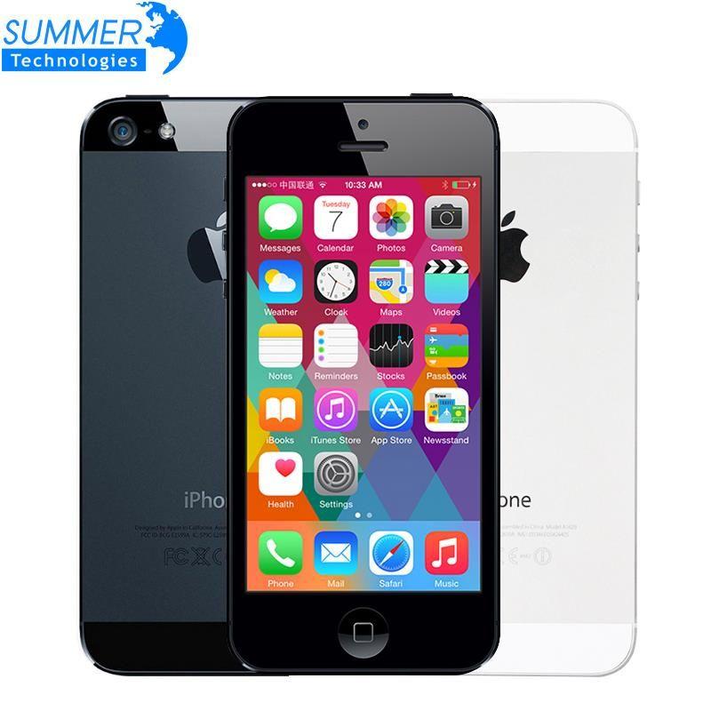 Original Unlocked Apple iPhone 5 Mobile Phone 4