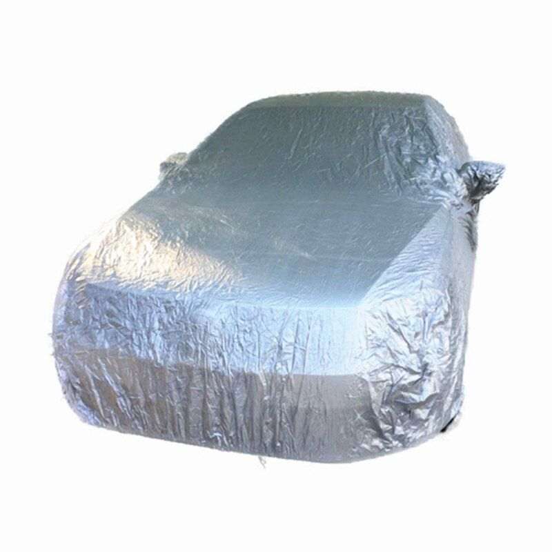<font><b>Indoor</b></font> Outdoor Full Car Cover Sun UV Snow Dust Resistant Protection Size S M L XL SUV L XL Car Covers Free shipping