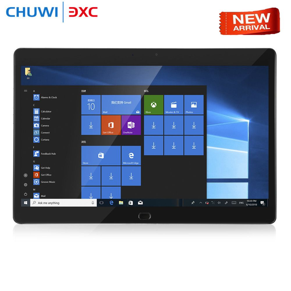 Chuwi CoreBook 2 in 1 Tablet PC 13,3 zoll Windows 10 Intel Dual Core 8 GB RAM 128 GB SSD ROM dual WiFi Doppel Kameras Typ-C