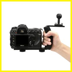 Underwater Tray Housings Arm for Gopro 5 4 3 Action Camera Holder Double Grip Dive for Canon Nikon Sony Fujifilm for xiaoyi
