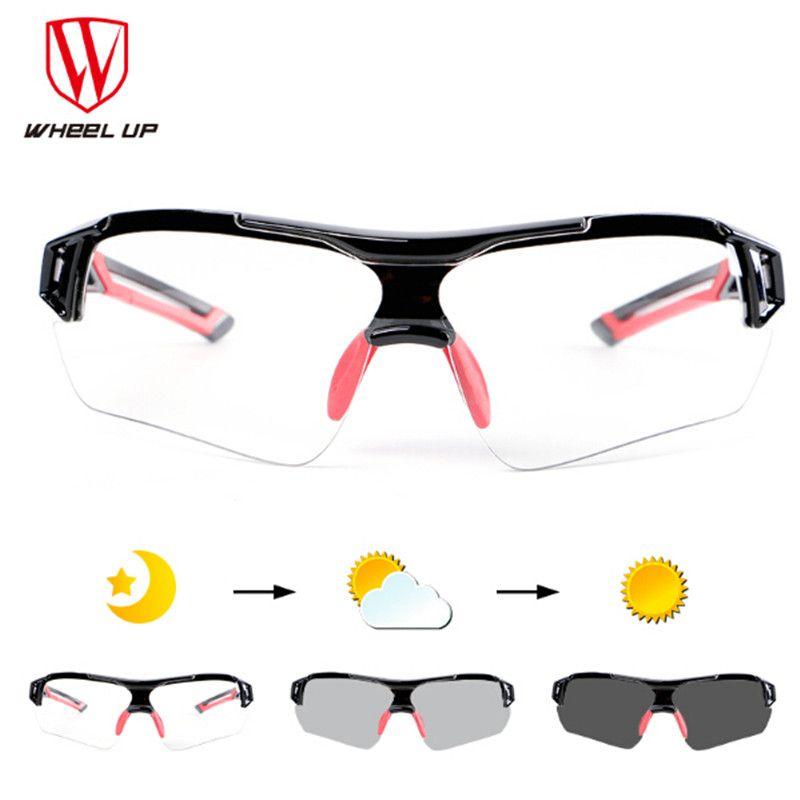 Radfahren photochromen Sonnenbrille Joggen Rennen Männer Reiten Sport Bike Anti-Uv Fahrrad Brille Gafas Ciclismo Polarizadas Gläser