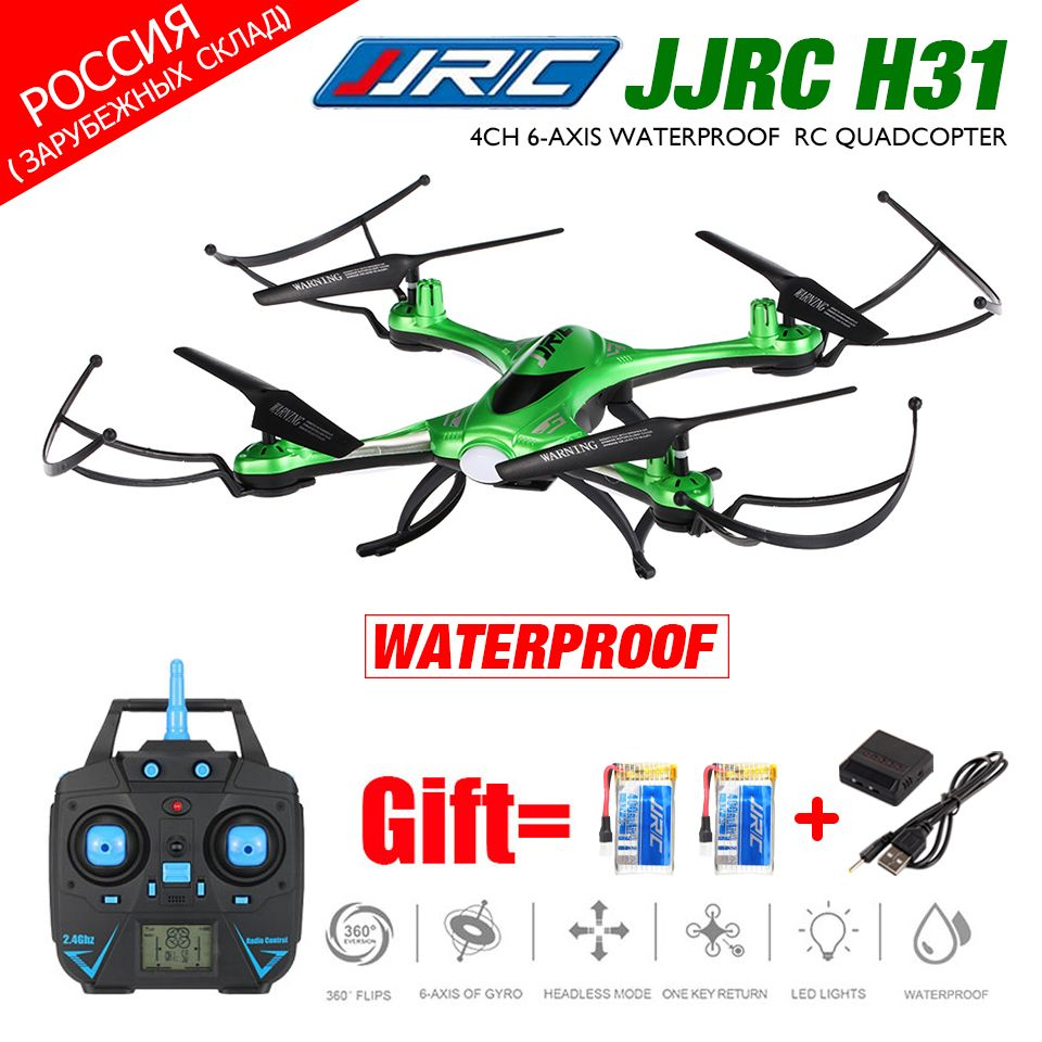 Waterproof Drone JJRC H31 FPV Drone with WiFi Camera Or 2MP Camera Or No Camera Headless Mode RC Quadcopter Helicopter Vs X5C
