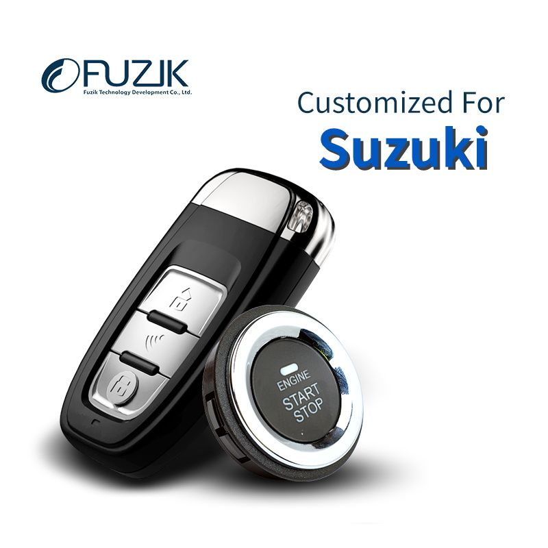 Fuzik Keyless Go Smart Key Keyless Entry Remote start Push Botton for Suzuki SX4 Alto Grand vitara Swift