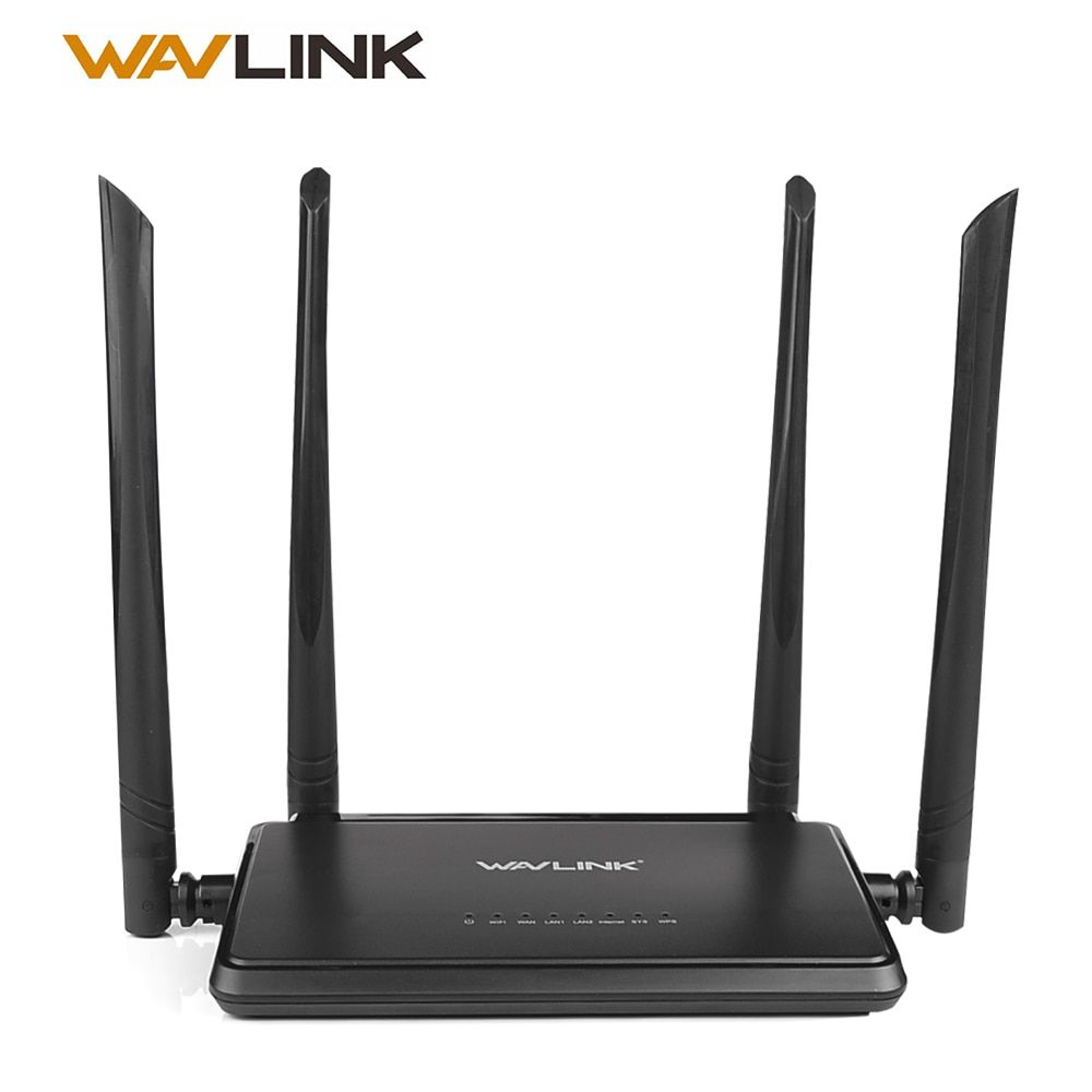 Wavlink N300 300 Mbps Wireless Smart Wifi <font><b>Router</b></font> Repeater Access Point With 4 External Antennas WPS Button IP QoS Speed 2 Fast