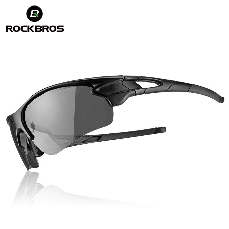 ROCKBROS cyclisme extérieur vélo lunettes polarisées et photochromatiques Sport vélo lunettes de soleil lunettes myopie cadre lunettes de protection