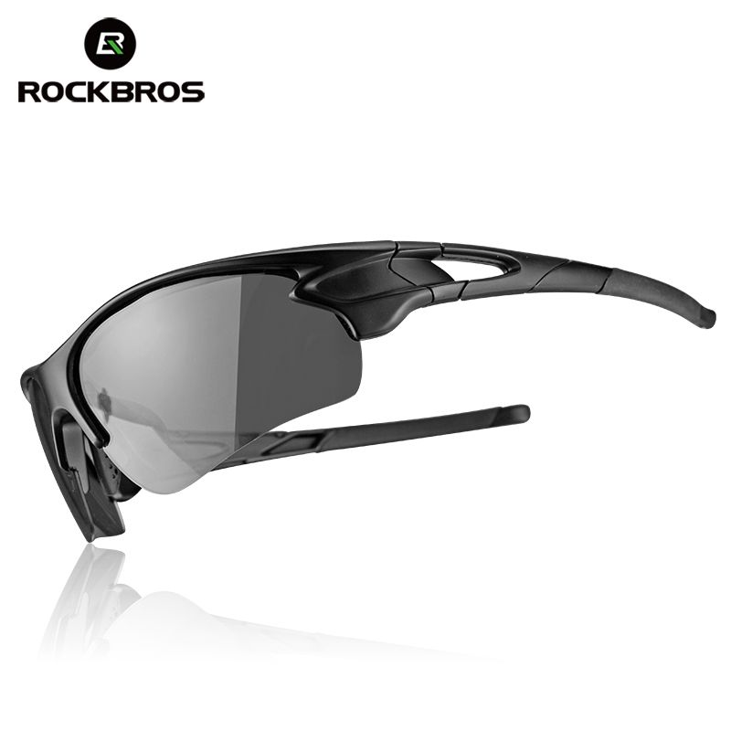 ROCKBROS Cycling Outdoor Bike Polarized&Photochromatic Glasses Sport Bicycle Sunglasses Goggles Myopia Frame <font><b>Protection</b></font> Eyewear