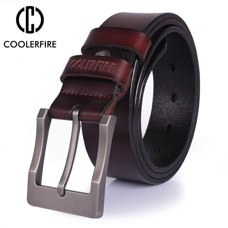 Hommes ceinture véritable ceinture en cuir pour hommes designer ceintures hommes de qualité supérieure de mode de luxe marque large ceinture de cow-boy livraison gratuite