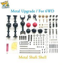 WPL Upgrade Full Metal Spare Part Asli WPL OP Logam Pas Aksesoris Gearbox untuk WPL B14 B16 B24 C14 C24 b36 WPL Resmi