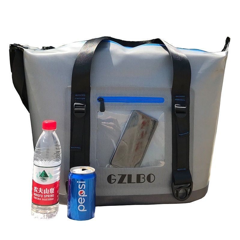 New 20can and 30can grey cooler bag soft pack outdoor ice bag