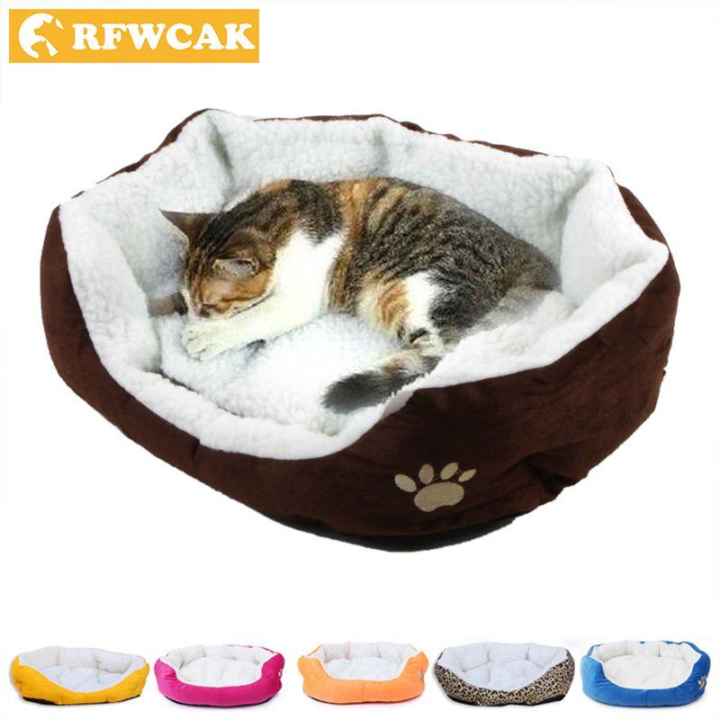 50*40cm lit de chat confortable et doux Mini maison pour chat Pet chien canapé-lit bons produits pour chiot chat Pet chien fournitures