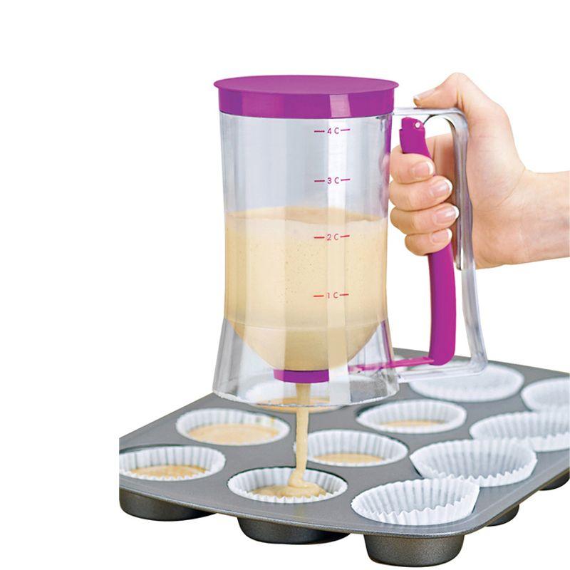 Neue Backen Kuchen Teig Creme Dispenser Wesentliche Teig Cupcake Teig Spender Für Backen Cupcakes Muffins Kuchen
